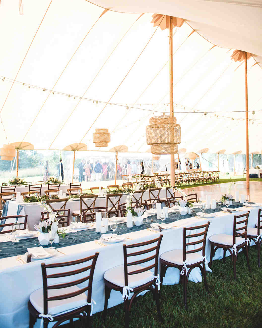 katie simon wedding tent
