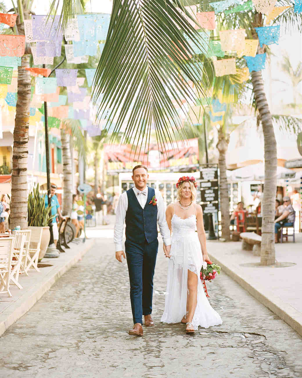 25 Dreamy Beach Wedding Dresses | Martha Stewart Weddings