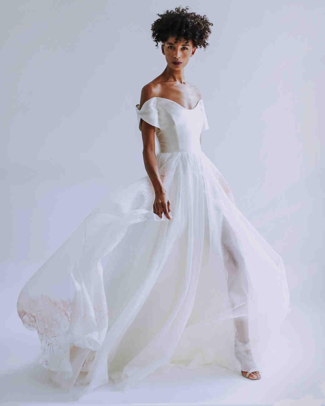 Leanne Marshall Fall 2019 Wedding Dress Collection Martha Stewart