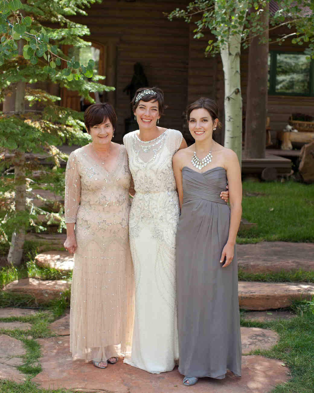 Family Picture Ideas For Wedding: Mother-of-the-Bride Dresses That Wowed At Weddings