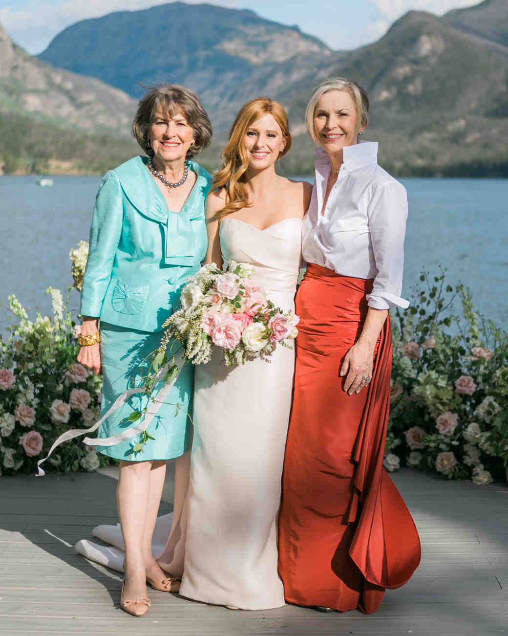 Long Sleeve Mother-of-the-Bride Dresses