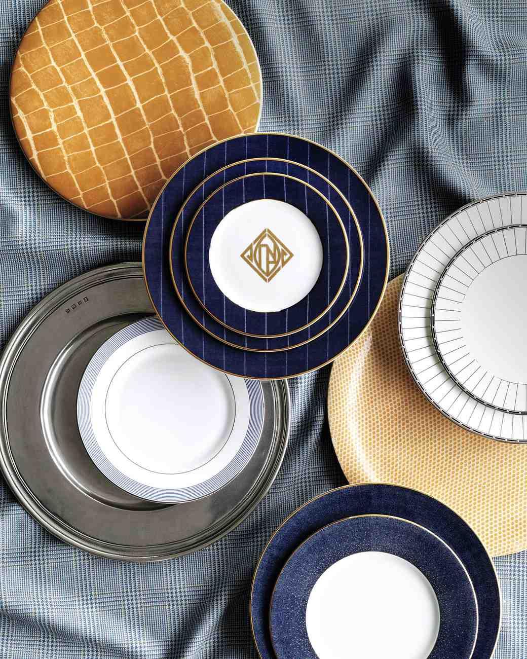 Photography David Meredith & 6 Fashion-Forward Dishware Sets to Inspire Your Registry | Martha ...