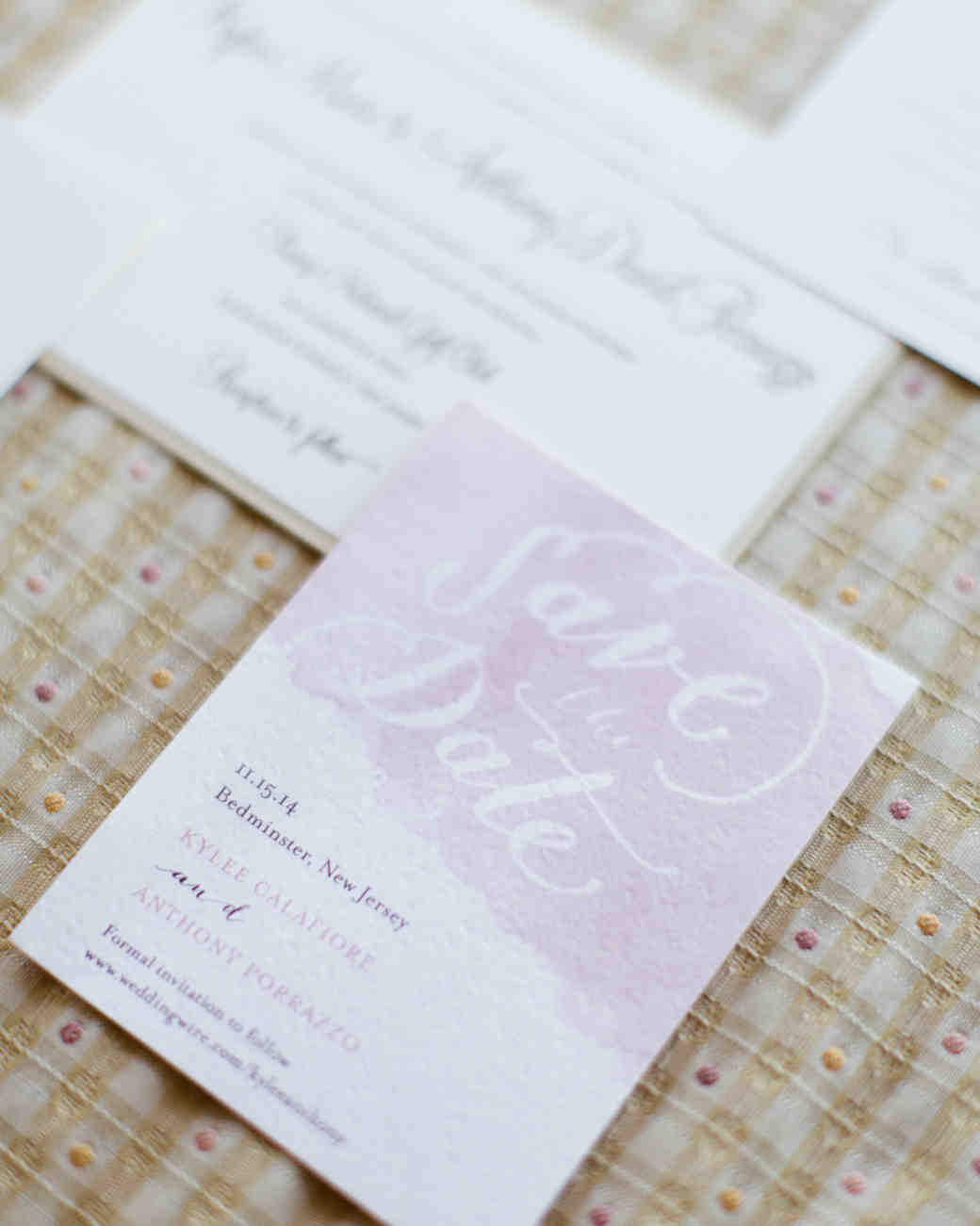 pink watercolor save-the-date