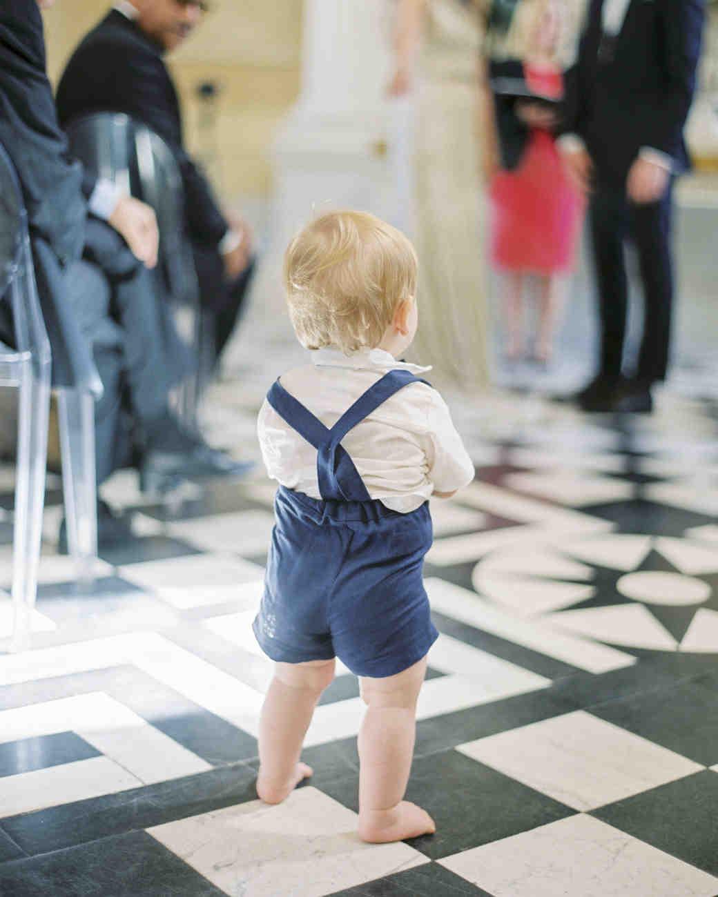 momina jack wedding ceremony little boy
