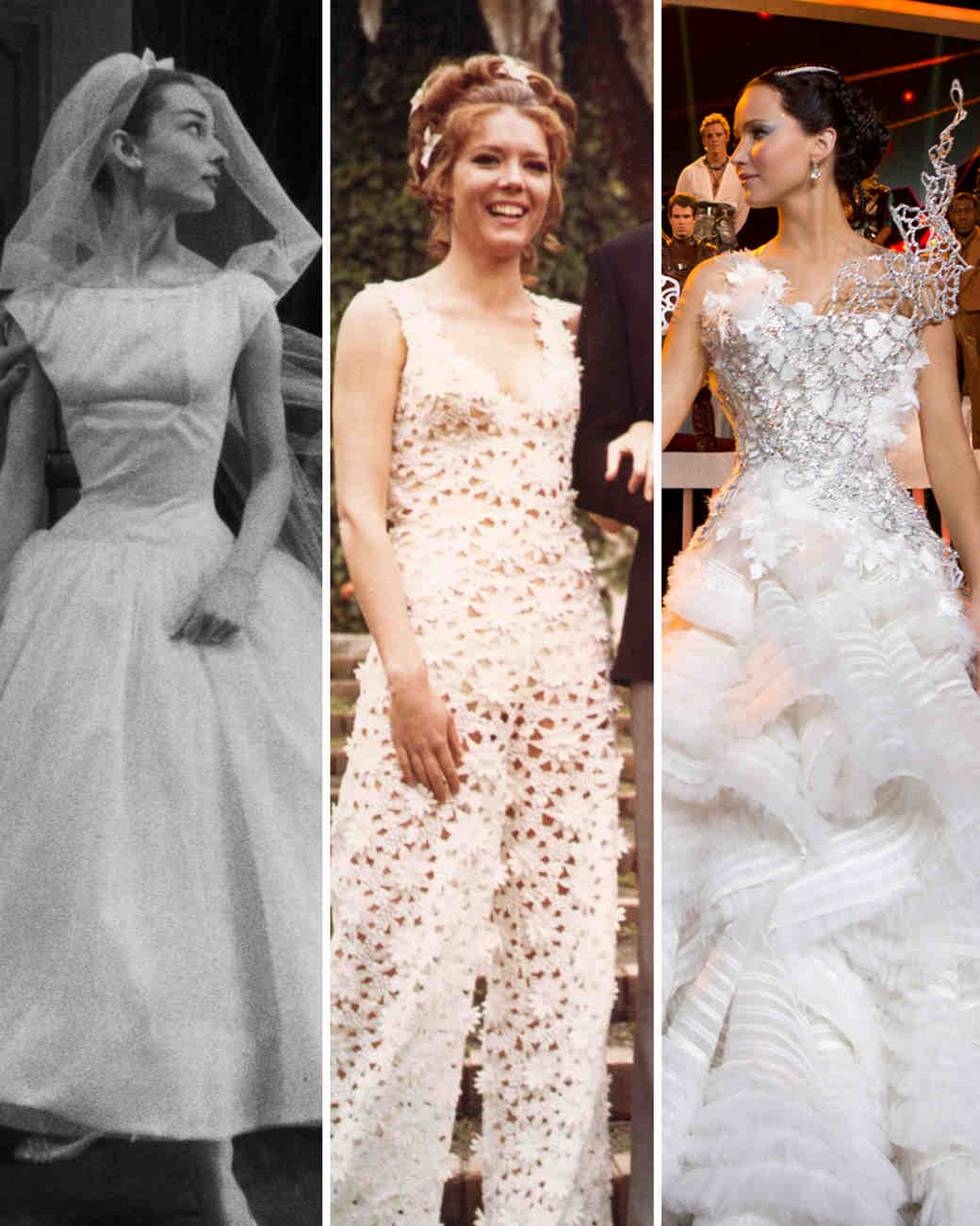 The most iconic movie wedding dresses of all time martha stewart the most iconic movie wedding dresses of all time martha stewart weddings ombrellifo Image collections