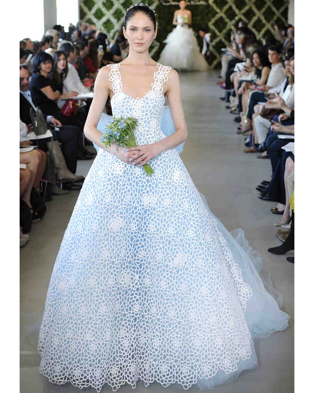 Ball Gown Oscar De La A