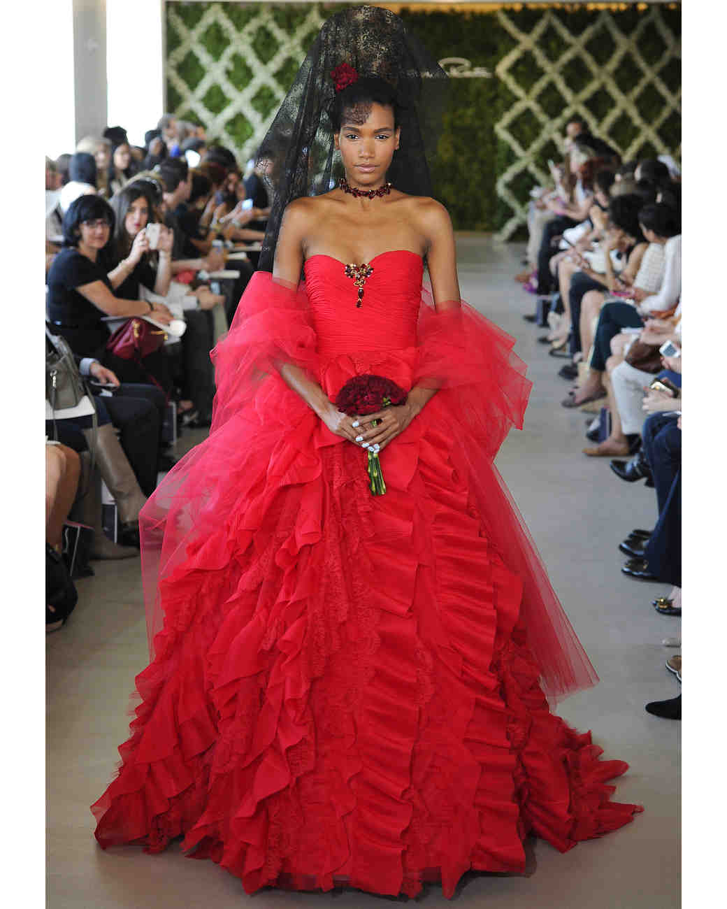 Red Wedding Dresses: 7 Red Wedding Dresses That'll Leave You Re-Thinking White