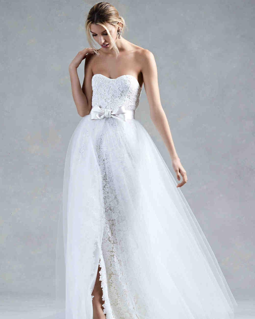Oscar de la Renta Bow Wedding Dress