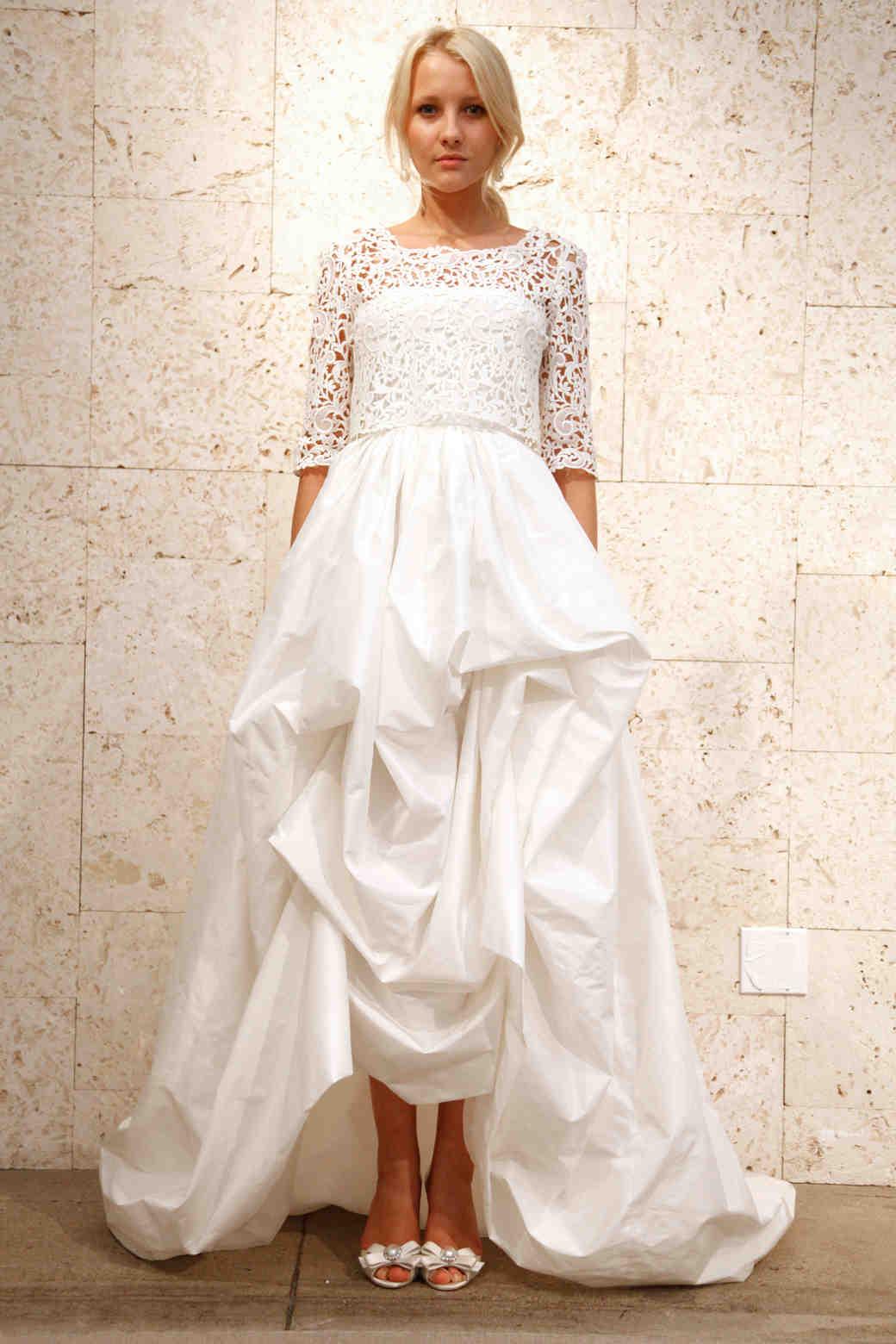 Oscar de la Renta, Fall 2012 Collection | Martha Stewart Weddings