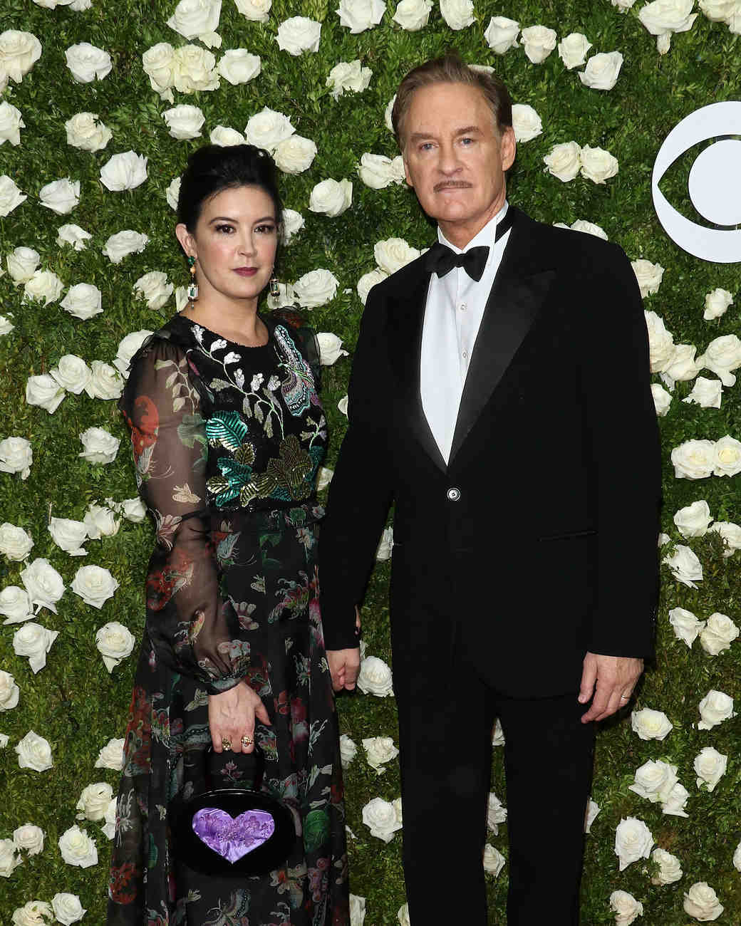 Phoebe Cates and Kevin Kline at 2017 Tony Awards