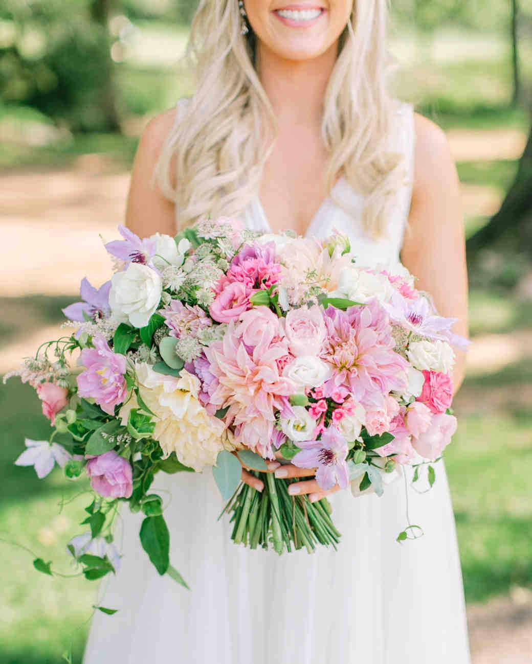 Pale Pink Wedding Flower Bouquets: Light Pink Wedding Flower Bouquets