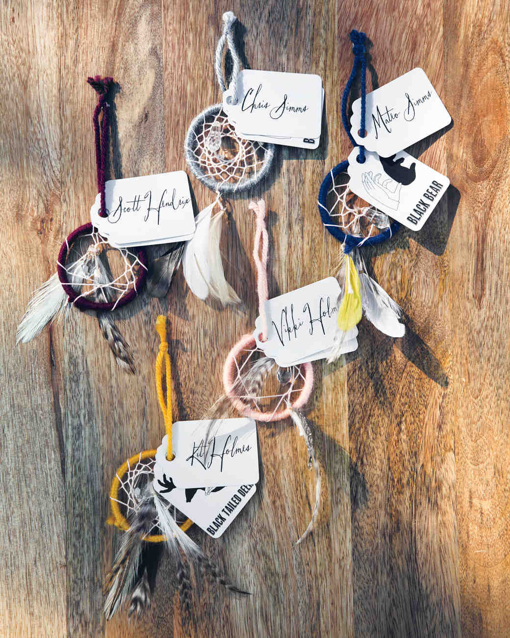 Dream Catcher Escort Cards