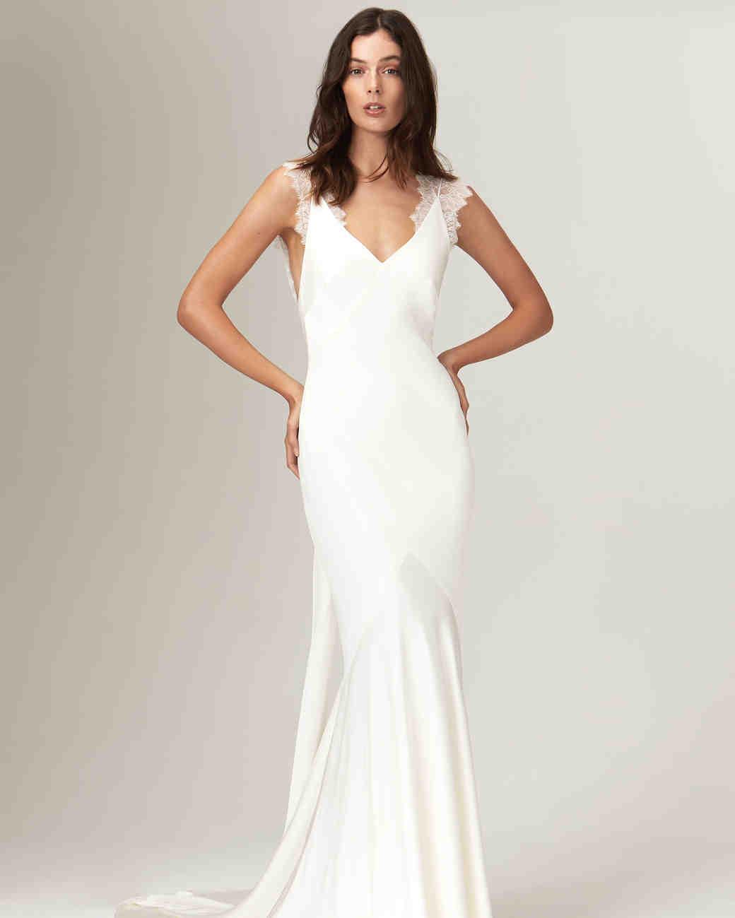 Savannah Miller Fall 2019 Wedding Dress Collection | Martha Stewart ...