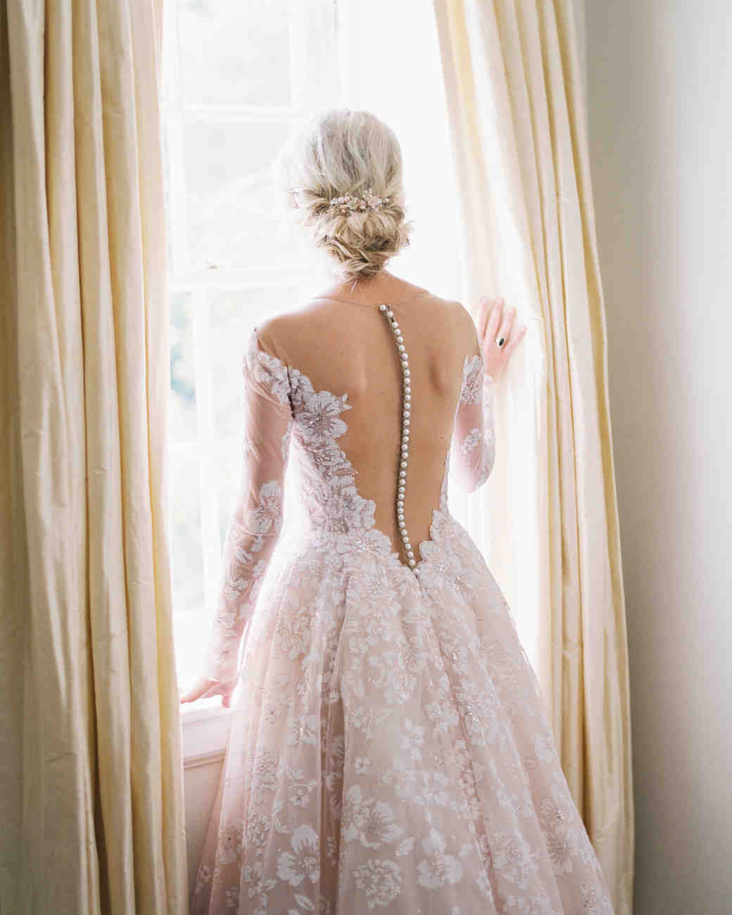 shelby preston wedding back of dress