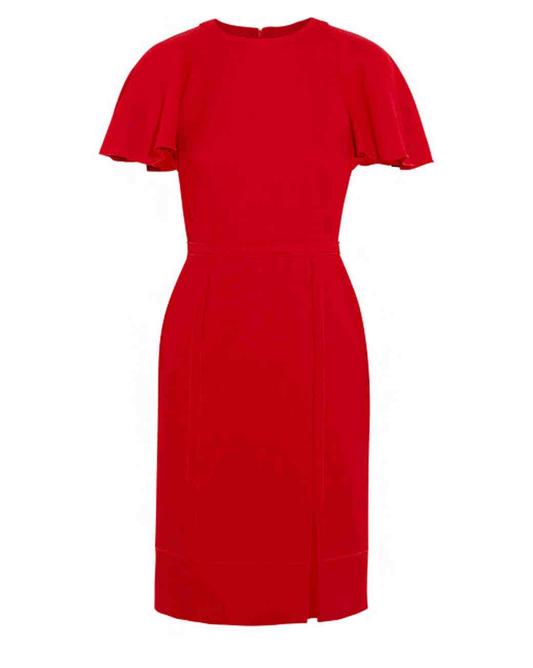 Giambattista Valli Ruffled Crepe Dress