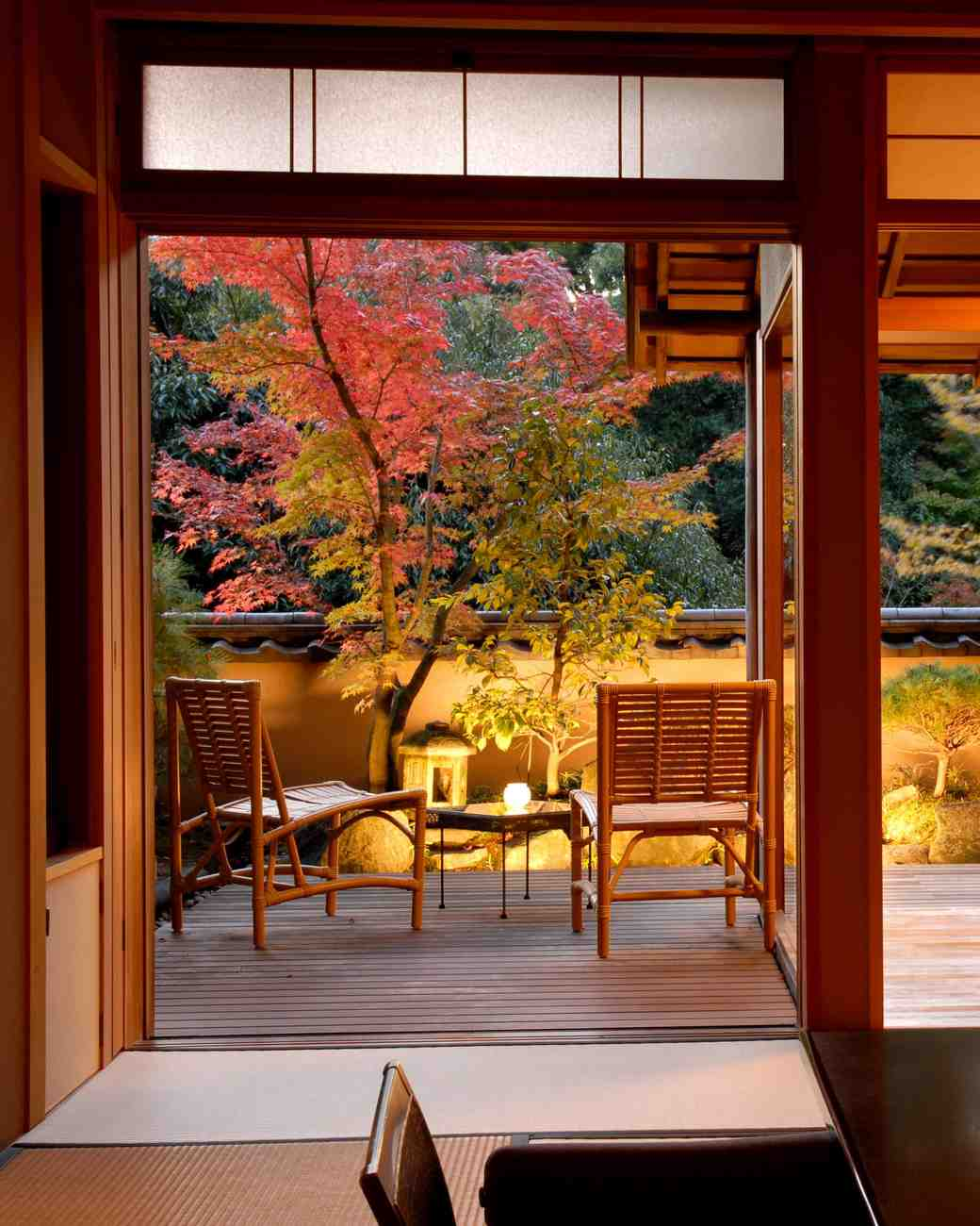japanese resort garden room