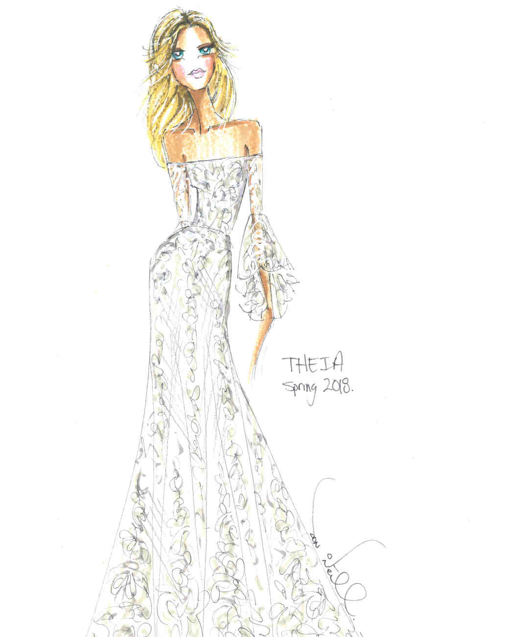 Spring 2018 BFW Sketches THEIA