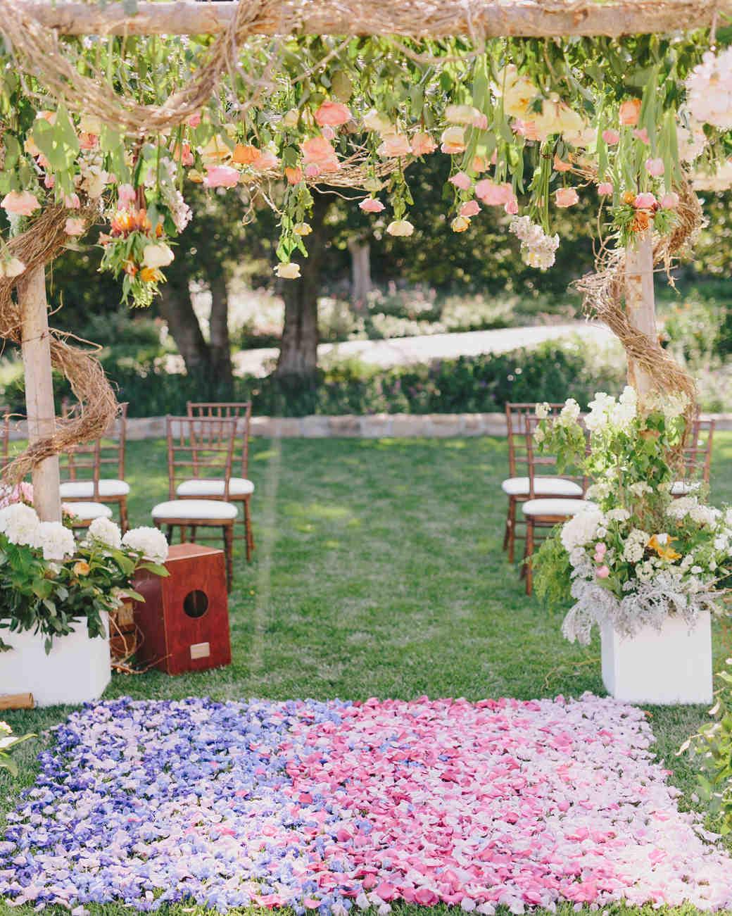 summer ceremony ideas jake and necia