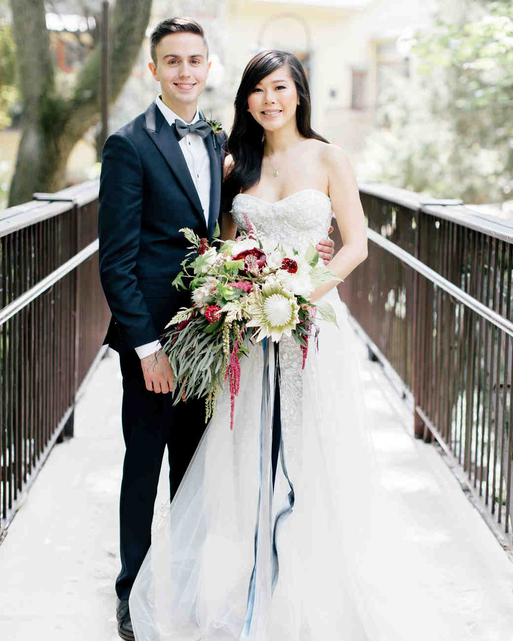 A Chinese-Inspired Wedding with Bohemian Touches