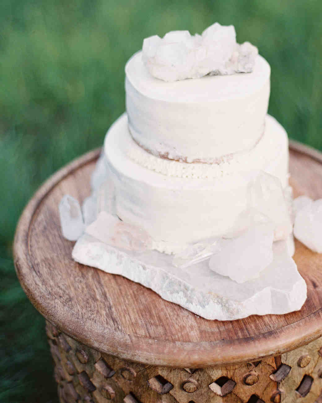 25 Vanilla Wedding Cakes That Are Anything But Boring | Martha ...