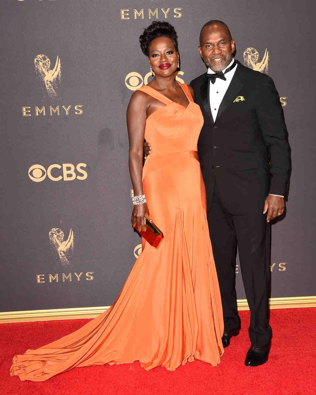 Viola Davis and Julius Tennon Emmys 2017