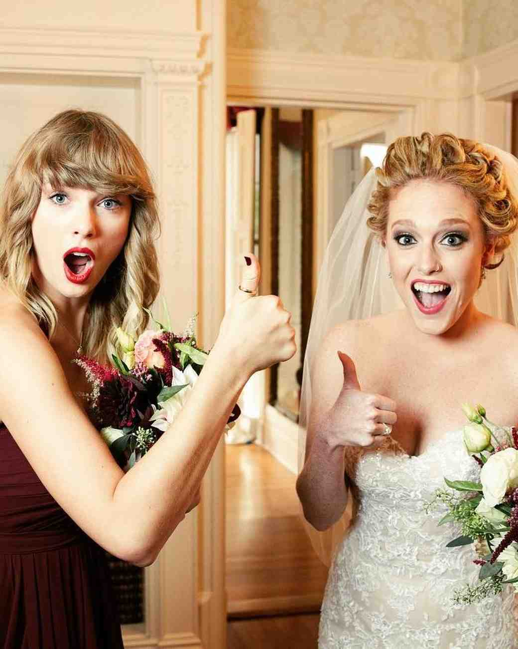 Taylor Swift Wedding Guest