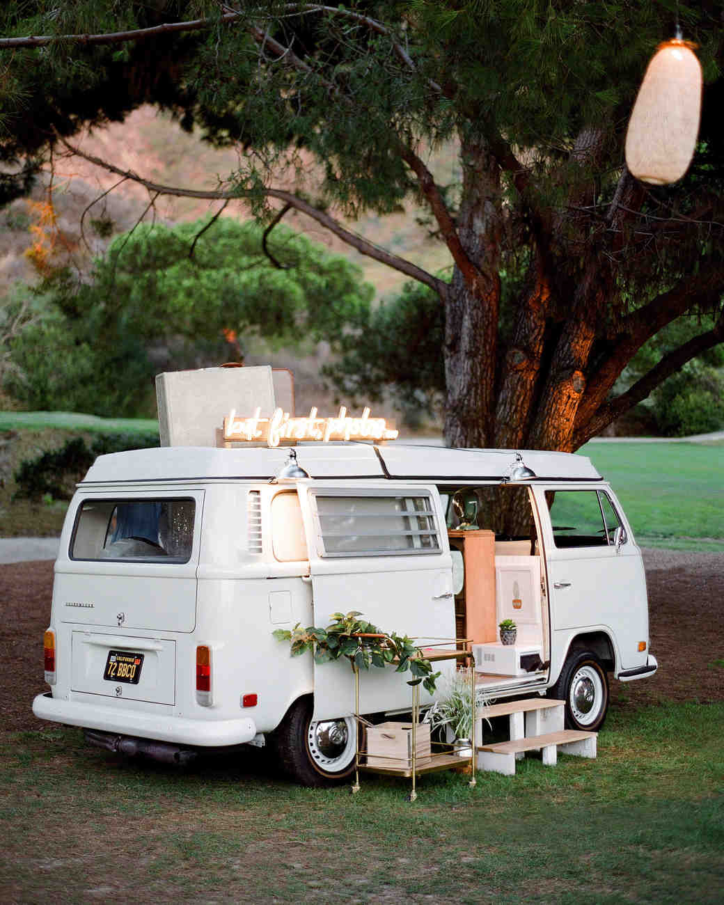 alex drew california wedding photobooth van