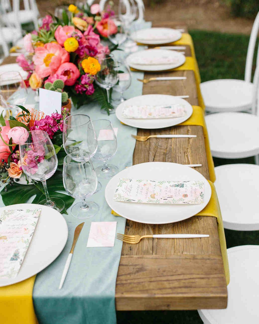 amy mark california table velvet place setting