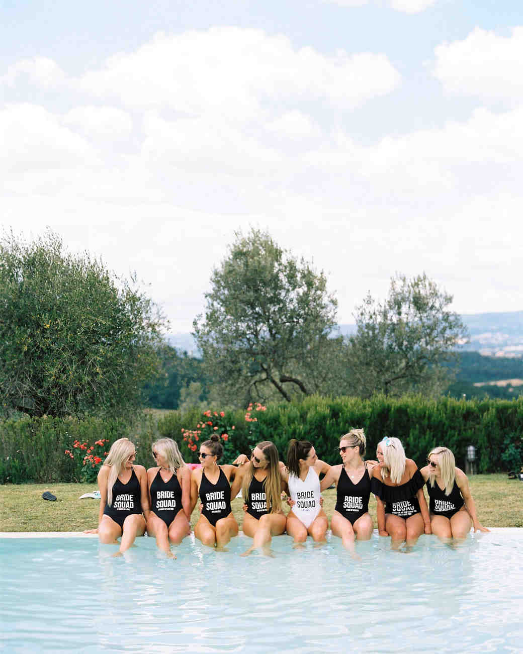 Pool Party Bachelorette Party Theme