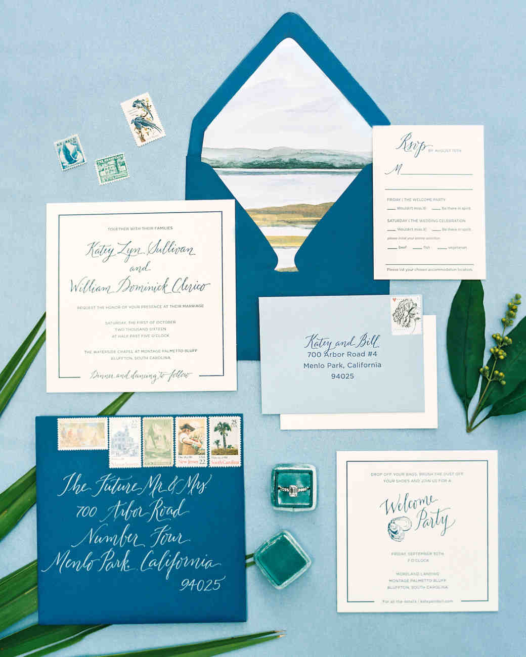 Nautical Wedding Invitations Perfect For A Waterfront Celebration