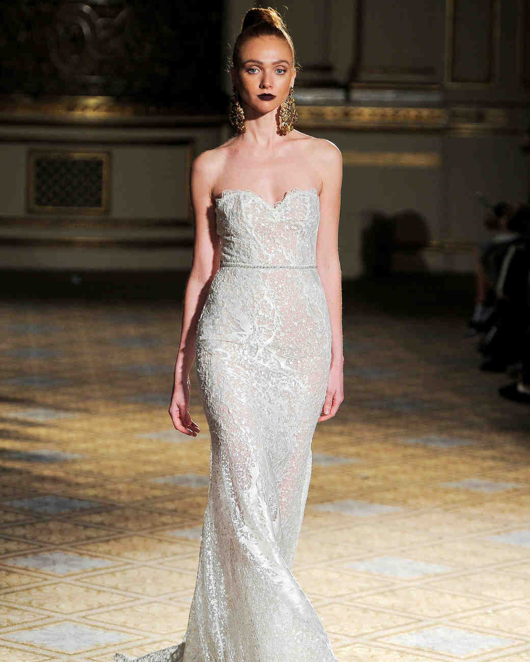 berta sweetheart trumpet wedding dress spring 2018