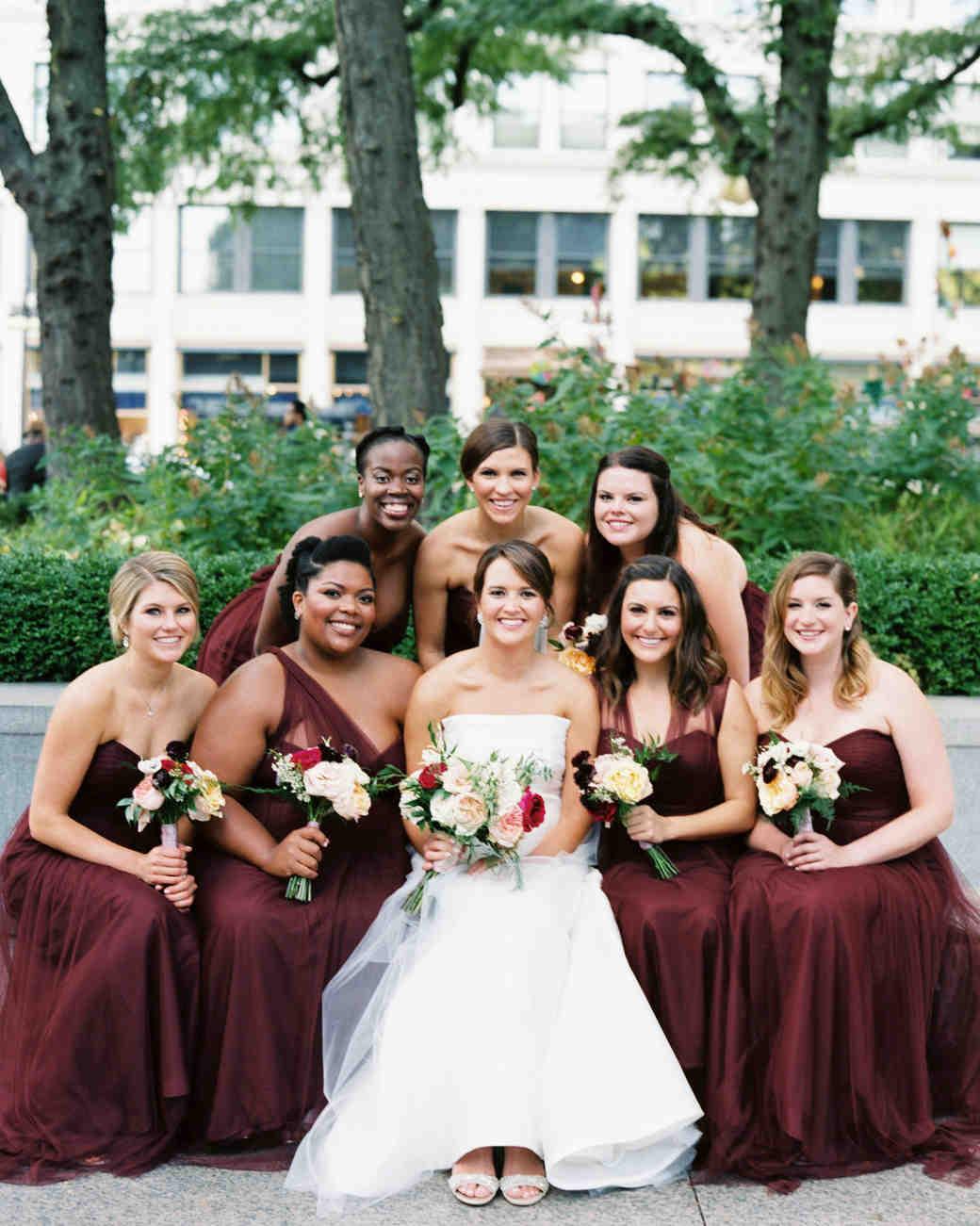 best dressed bridesmaids annie parish