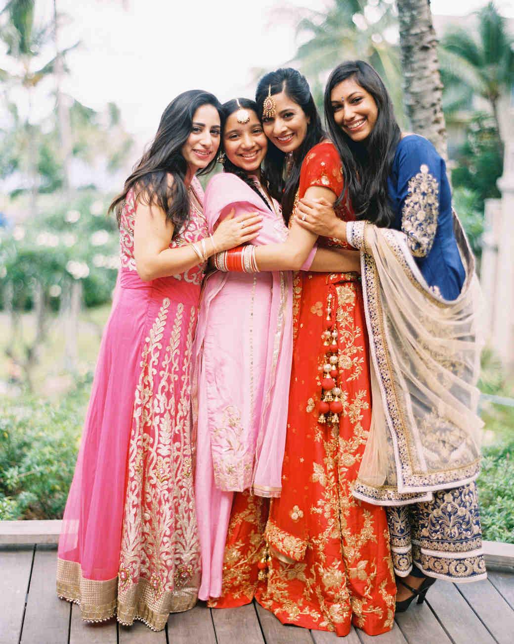 best dressed bridesmaids wendy laurel