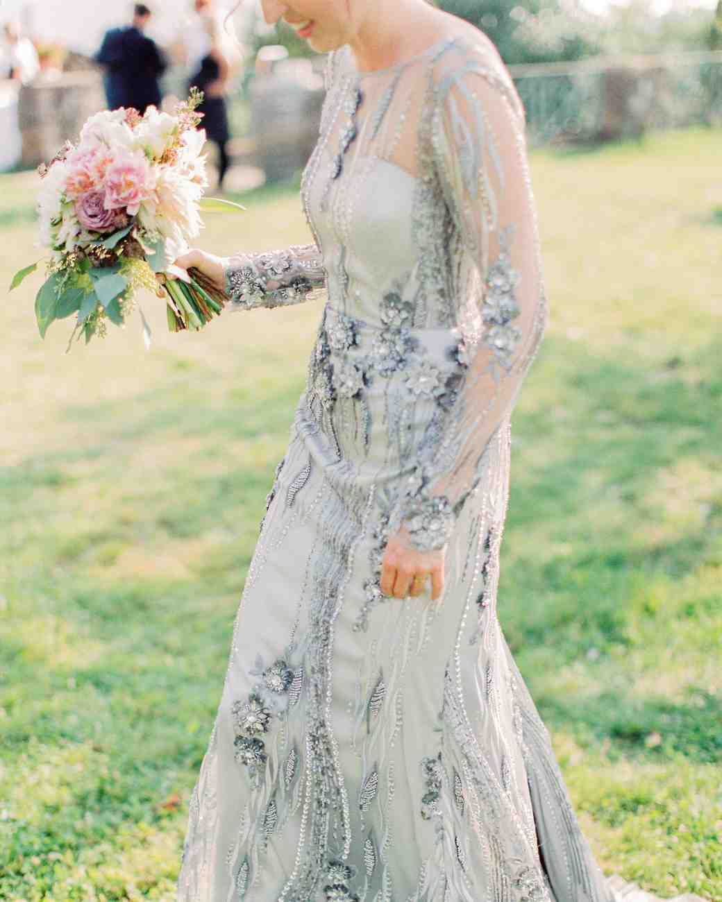 20 blue color wedding palettes we love martha stewart weddings blue wedding dress junglespirit Images