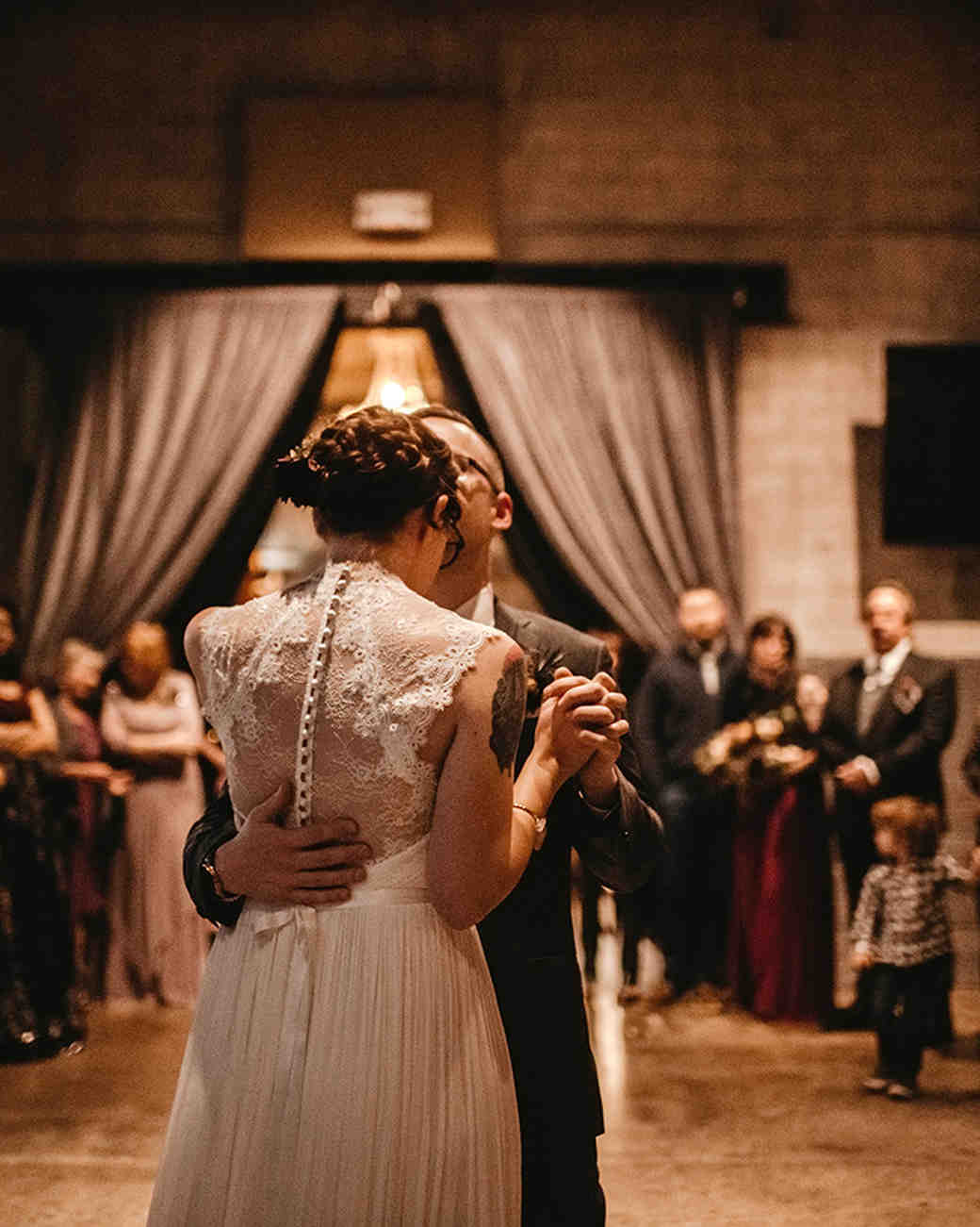brewery wedding venues indoor first dance