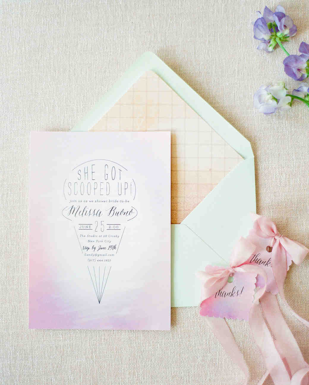bridal shower invitations brklyn view