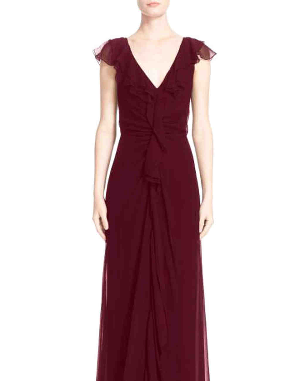 24 Burgundy Mother-of-the-Bride Dresses | Martha Stewart Weddings
