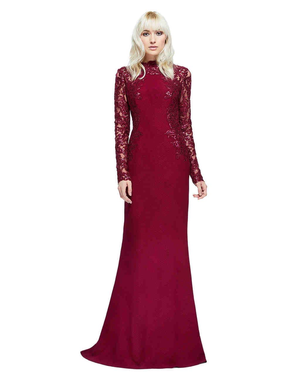 24 Burgundy Mother Of The Bride Dresses Martha Stewart