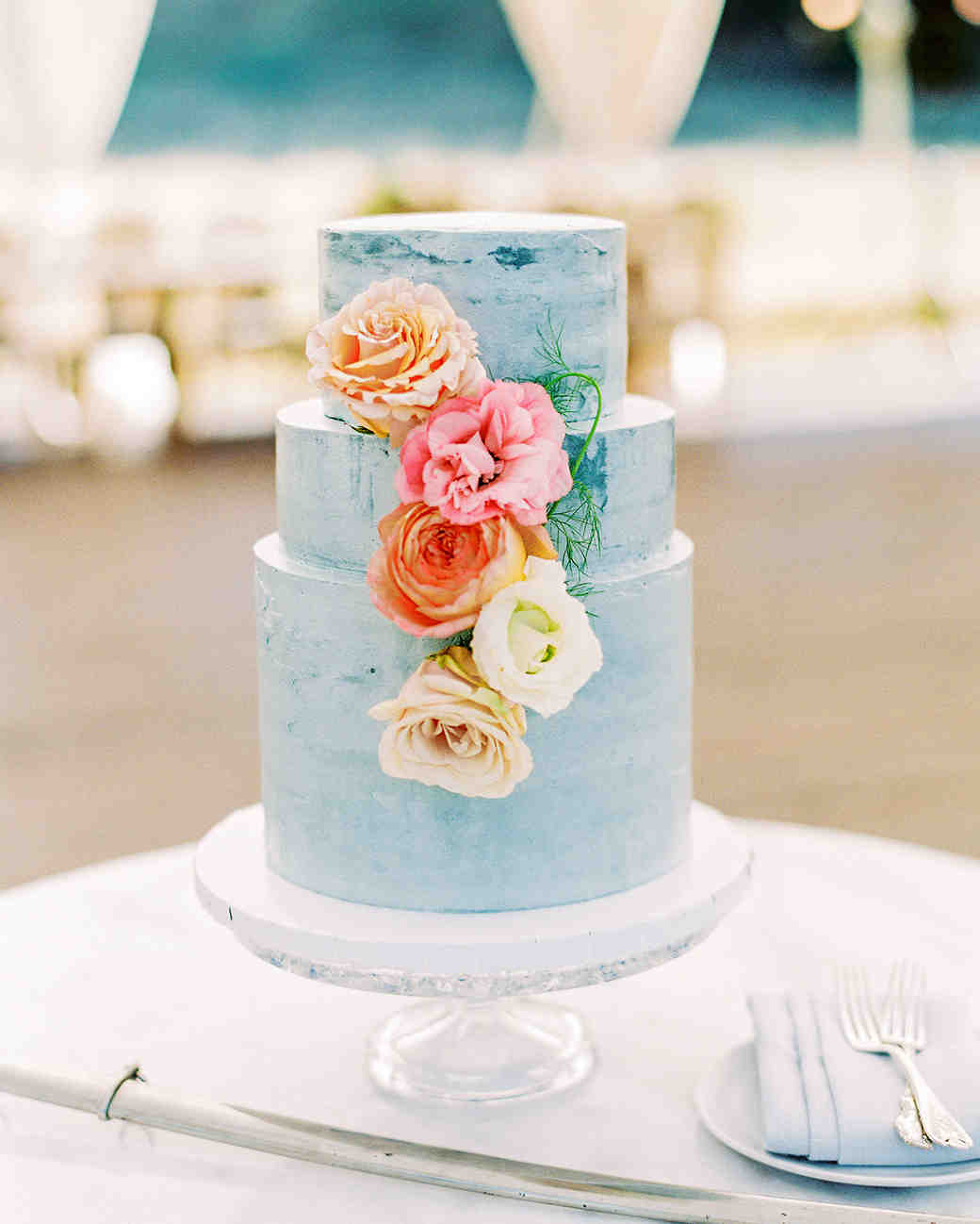 caitlin amit wedding blue cake