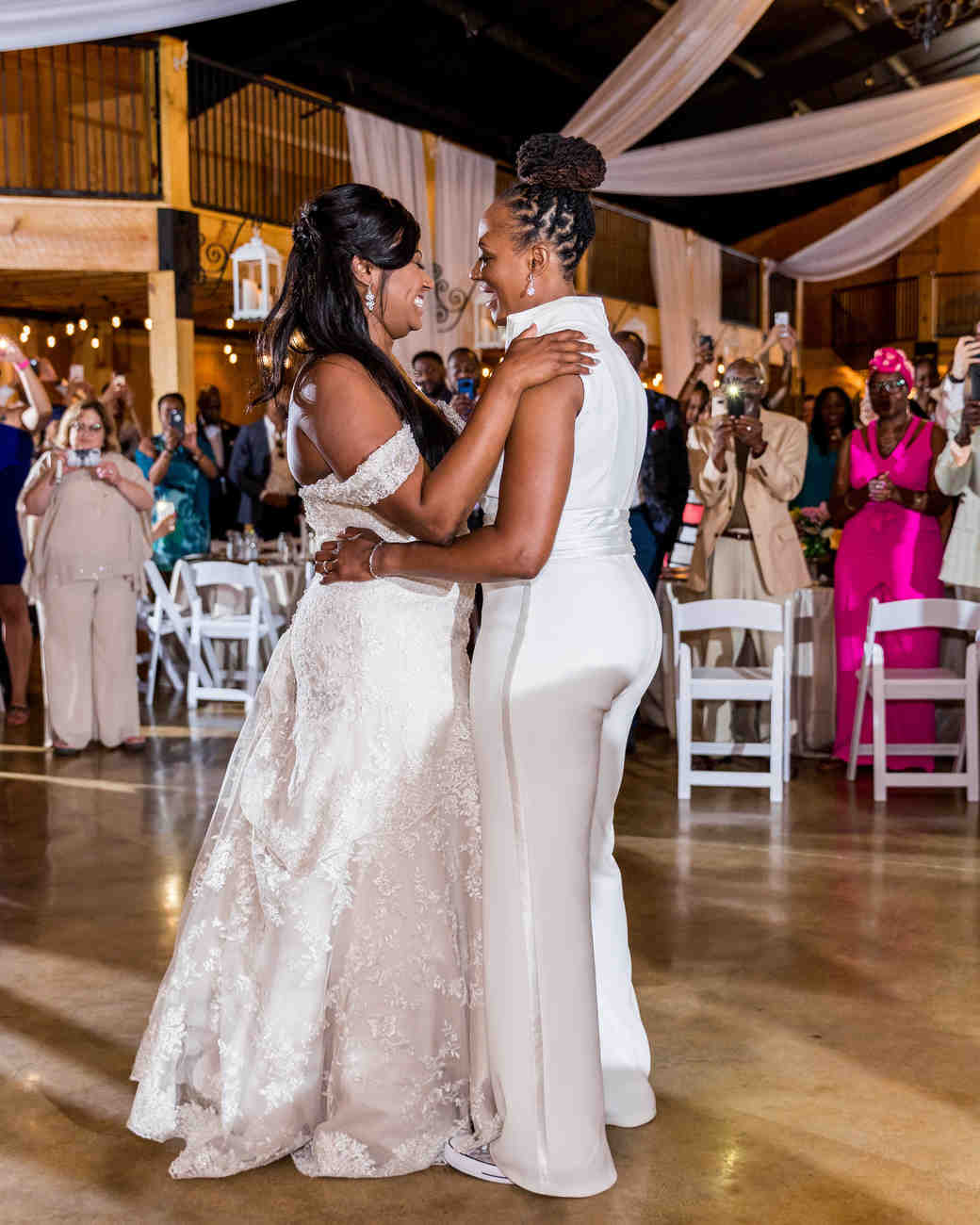 cara chamique wedding first dance