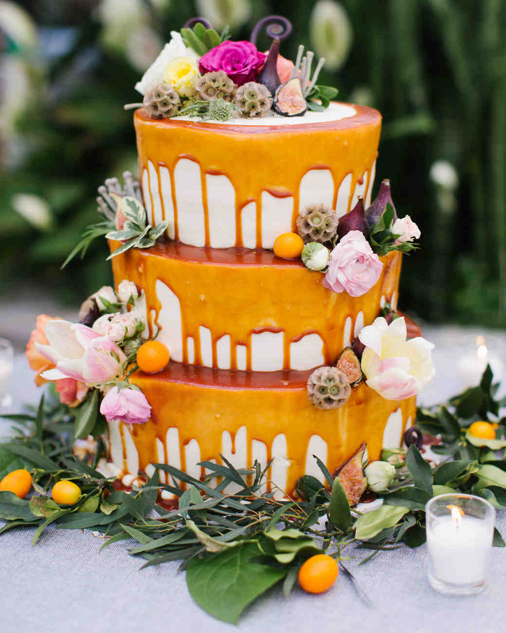 66 Colorful Wedding Cakes Martha Stewart Weddings
