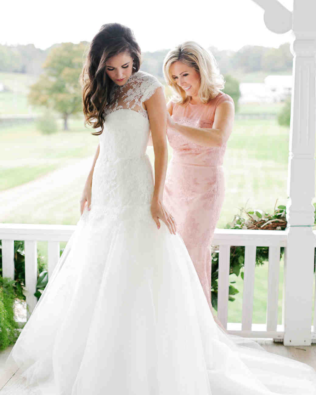 497c603974df The Prettiest Pink Mother-of-the-Bride and-Groom Dresses | Martha ...