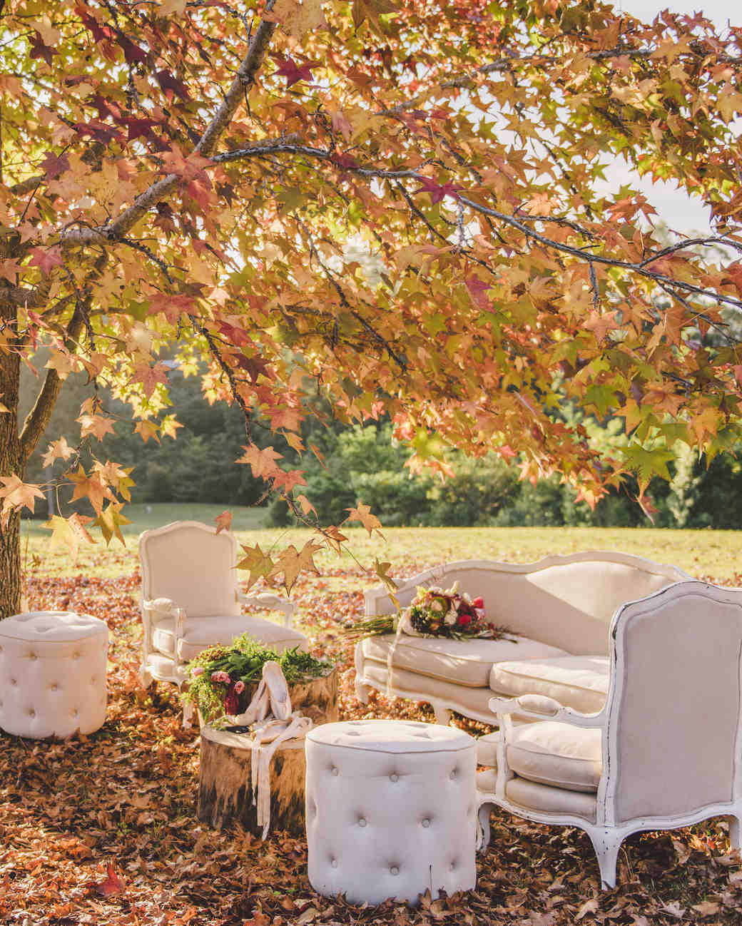 Outdoor Wedding Seating Ideas: Our Favorite Seasonal Ideas For A Fall Wedding
