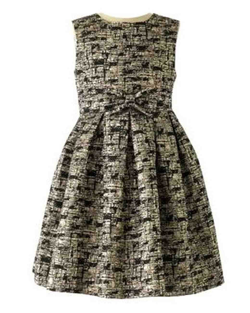Damask Party Dress