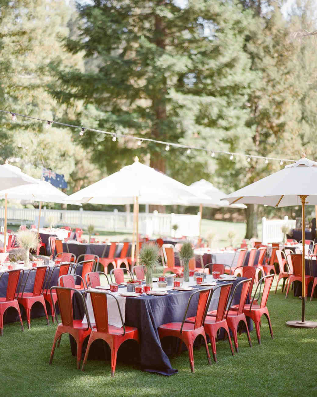 29 festive fourth of july wedding ideas martha stewart weddings. Black Bedroom Furniture Sets. Home Design Ideas