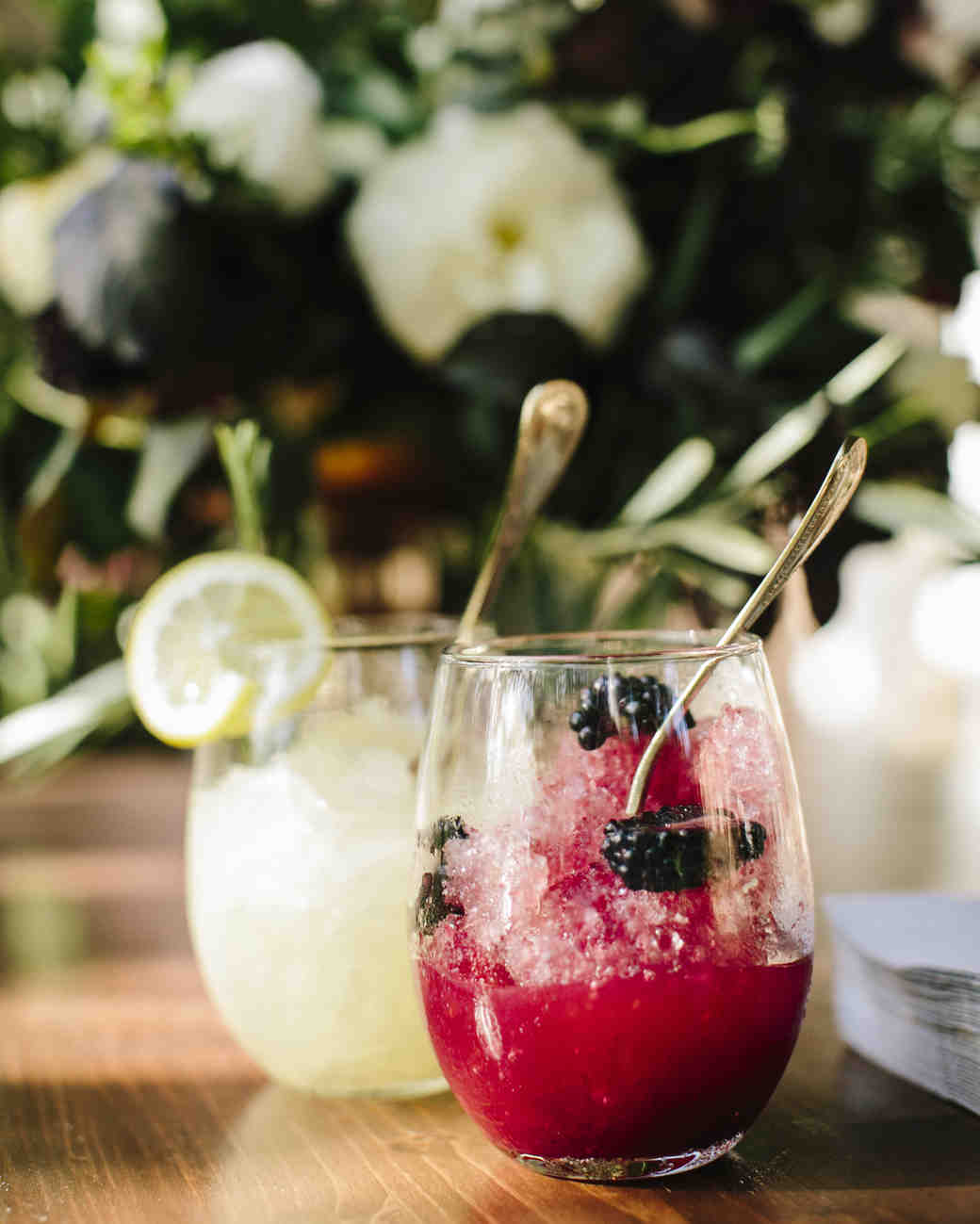 frozen wedding drinks