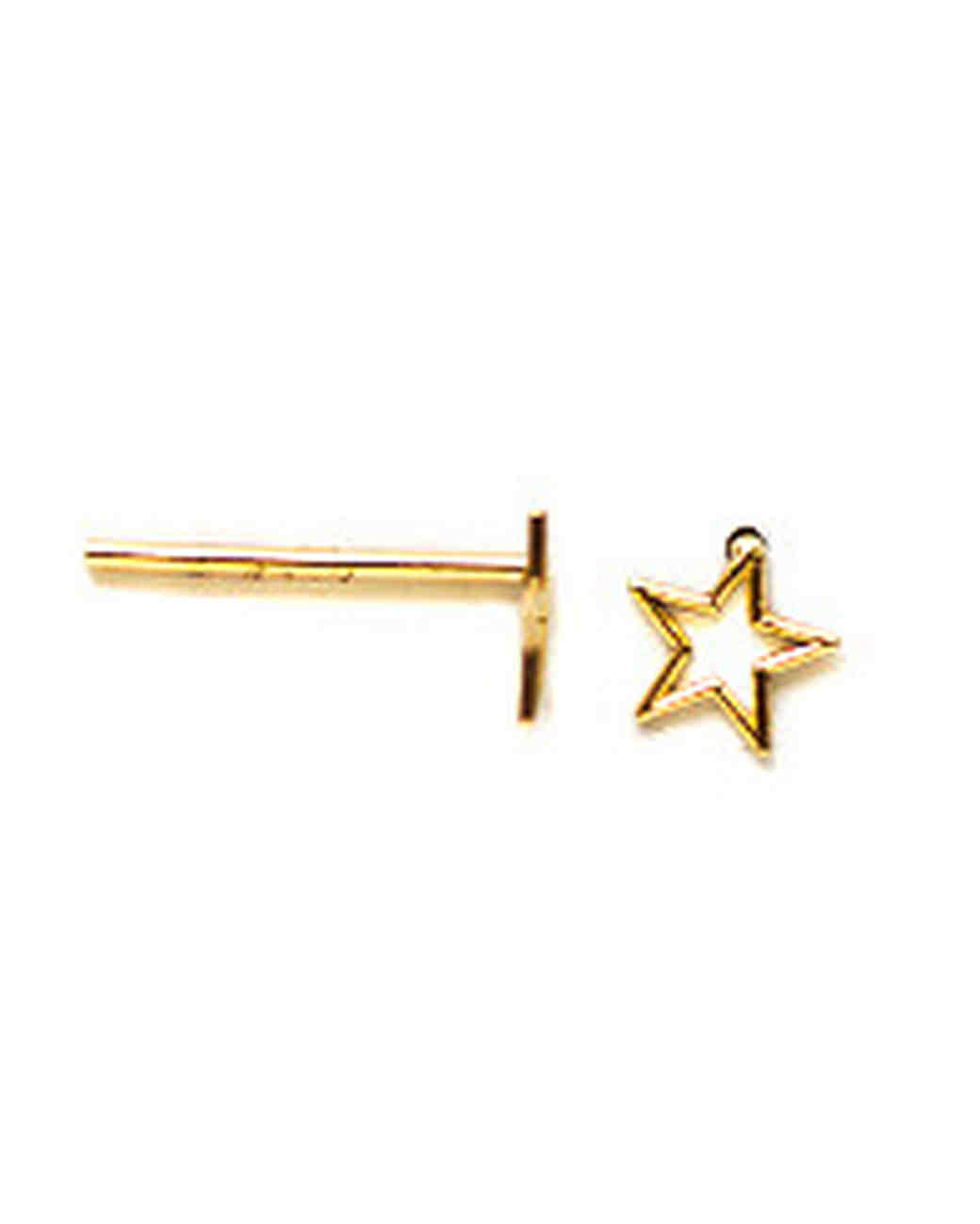 whimsy star earring
