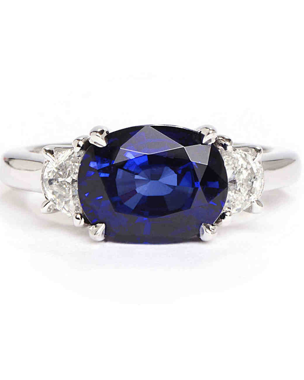 Greenwich St. Collection Oval Engagement Ring