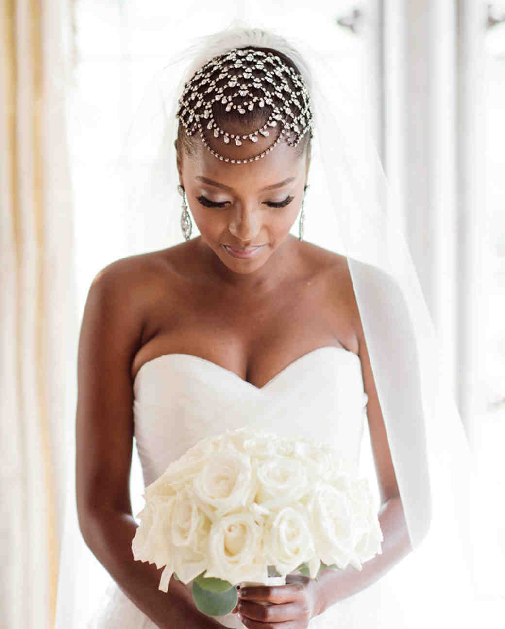 Short Hairstyle For Join Wedding: The Best Hairstyles For Every Wedding Dress Neckline