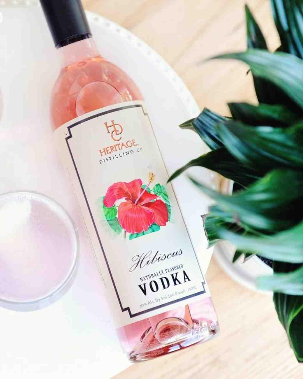 heritage distilling company hibiscus vodka